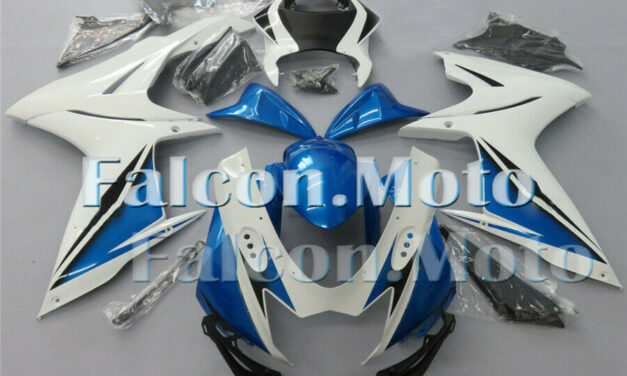 Blue White ABS Injection Fairing kit Fit for 2011-2019 GSXR600 GSXR750 K11 aDI