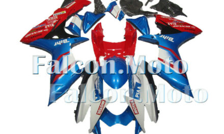 Blue White Red Injection Fairing Fit for 2011-2019 GSXR 600 750 K11 Mold ABS aCA