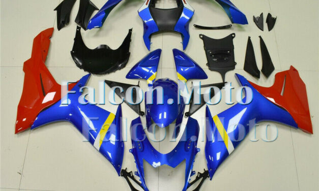 Blue Red Injection ABS Bodywork Fairing Kit Fit for 2011-2019 GSX-R 600 750 K11