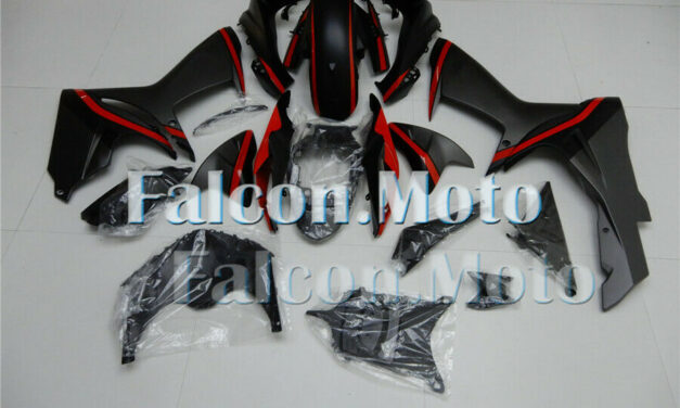 Black Grey Red Fairing Fit for GSX-R 600 750 2011-2019 Plastic Kit Injection aDD
