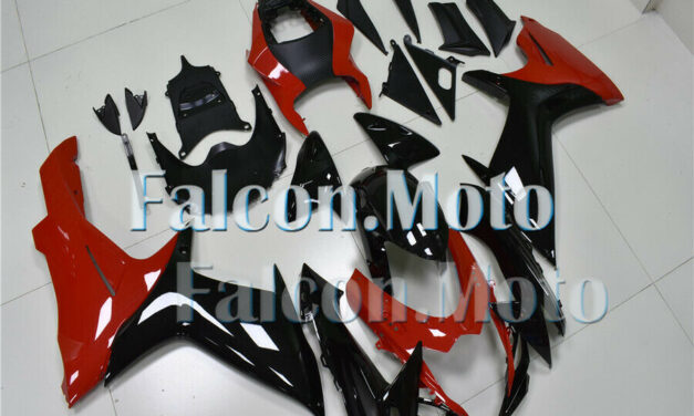 Red Black Fairing Fit for 2011-2019 GSX-R 600 750 Injection ABS Bodywork Kit aCW
