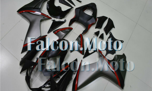Black Gray Red Fairing Fit for 2011-2019 GSX-R 600 750 K11 Injection ABS Plastic