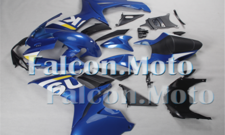 Injection Fairing ABS Plastic Fit for 11-19 GSX-R 600/750 2011-2019 K11 Blue aDQ