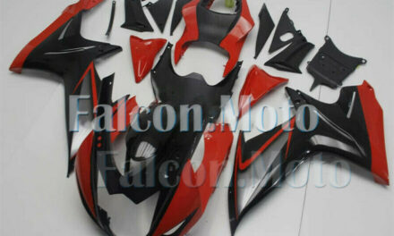 Fairing Plastics ABS Suitable For 2011-2019 GSX-R 600 750 K11 Black Red Injection aEG