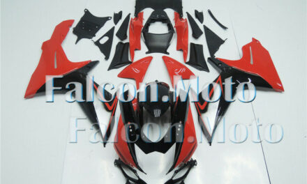 Red Black Injection Fairing Fit for 2011-2019 GSX-R 600 750 K11 ABS Plastic iBF
