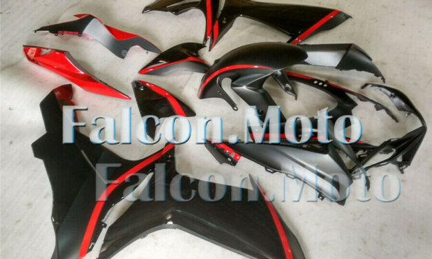 Black Red Injection Mold Fairing Fit for GSX-R 600 750 2011-2019 K11 ABS New aAD