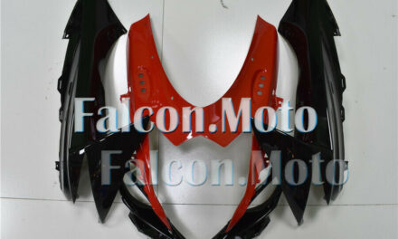Front Nose Cowl Upper Fairing Fit for 2011-2018 GSXR 600/750 Black Red Injection