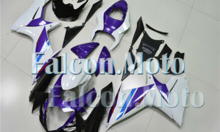 New Fairing Kit Injection Fit for 11-19 GSX-R 600/750 K11 Purple White ABS aAL