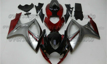 Injection Molding Fairing Fit for 2006 2007 GSX-R 600 750 K6 Set Body Work aAI