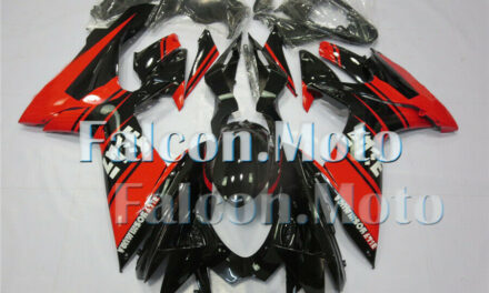 New Fairing Fit for 2011-2019 GSX-R 600 750 K11 Black Red Injection Molding aBN