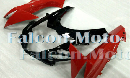 Front Nose Cowl Upper Fairing Fit for 2011-2018 GSXR 600/750 K11 Red Black aAB