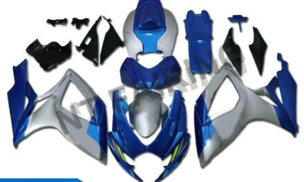 Injection Blue ABS Plastic Fairing Fit for Suzuki 2006-07 GSXR 600 750 a0124