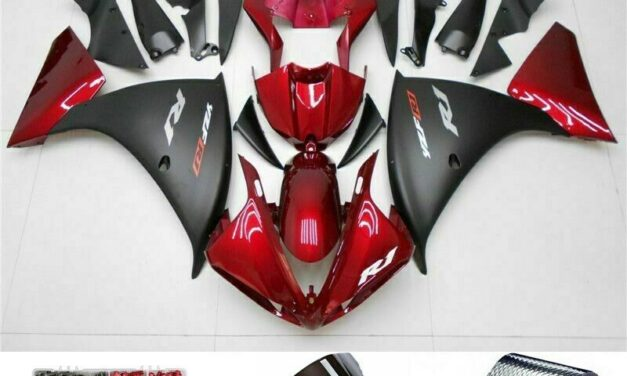 Red Black Injection Plastic ABS Fairing Fit for Yamaha YZF R1 2009-2011 UE