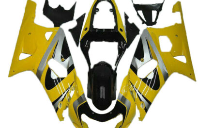 CC Yellow Injection Model Fairing Fit for Suzuki 2001-2003 GSXR 600/750 a077
