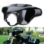 Black Batwing Outer Fairings Windscreen For Harley Touring Street Glide 1996-13