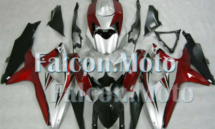 Injection Body Kit Fairing Fit for 2008-2010 GSXR 600 750 K8 Black Red Silver FH