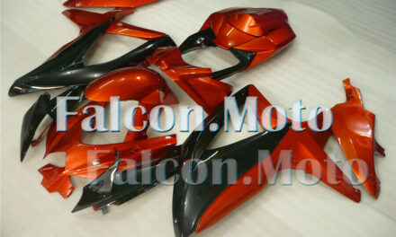 Orange Black Injection Fairing Fit for 2008-2010 GSXR 600 750 K8  Plastic ABS BE