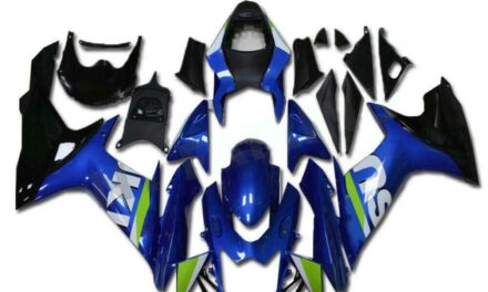 CC Fairing Fit for SUZUKI 2011-2020 GSXR 600/750 Injection Blue Molded a041