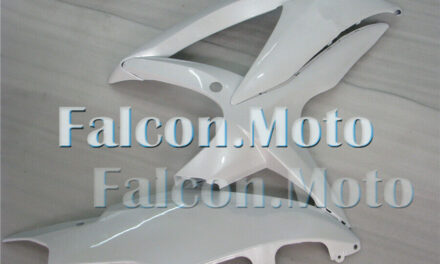 Glossy White Injection Right Side Fairing Fit for 2008-2010 GSX-R 600 750 K8 aAN