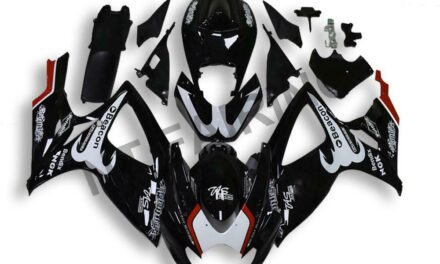 GL Injection Mold Black ABS Fairing Fit for Suzuki 2006 2007 GSXR 600 750 a0116