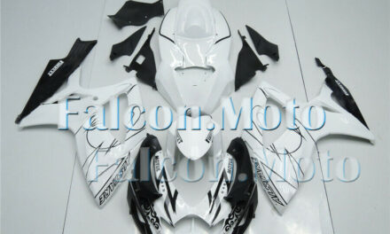 Fairing Injection White Black Fit for 2006-2007 GSXR GSX-R 600 750 ABS New aBP