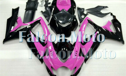 Pink Black Fairing Fit for 2006 2007 GSXR 600 750 06-07 K6 Plastic Injection aGB