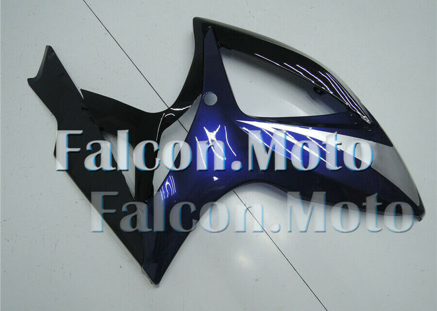 Right Side Fairing Fit for GSXR 600 750 06-07 K6 Black Darker Blue Injection aAC