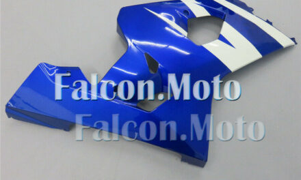 Right Side Fairing for Suzuki GSXR 600 750 2004-2005 K4 Injection Blue White aAB