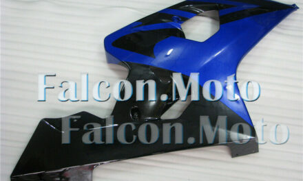 Right Side Fairing for Suzuki GSXR 600 750 2004-2005 K4 Injection Black Blue aAA