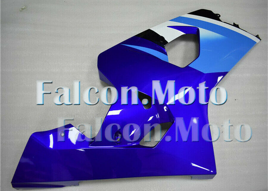 New Blue Right Side Fairing Fit for GSXR 600 750 2004-2005 K4 Injection aAV