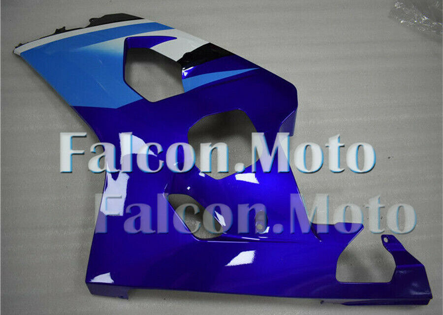 New Blue Left Side Fairing Fit for 04-05 GSXR 600 750 2004-2005 K4 Injection aAV