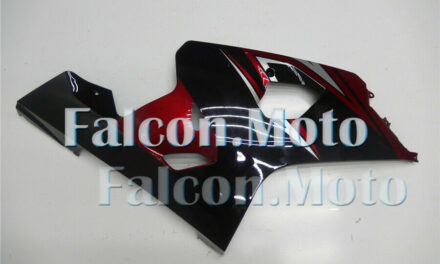 Pearl Red Black Injection Right Side Fairing for Suzuki GSX-R 600 750 2004-2005