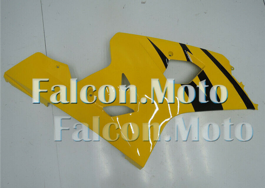 Right Side Fairing for Suzuki GSX-R 600 750 04-05 K4 Yellow Black Injection ABS