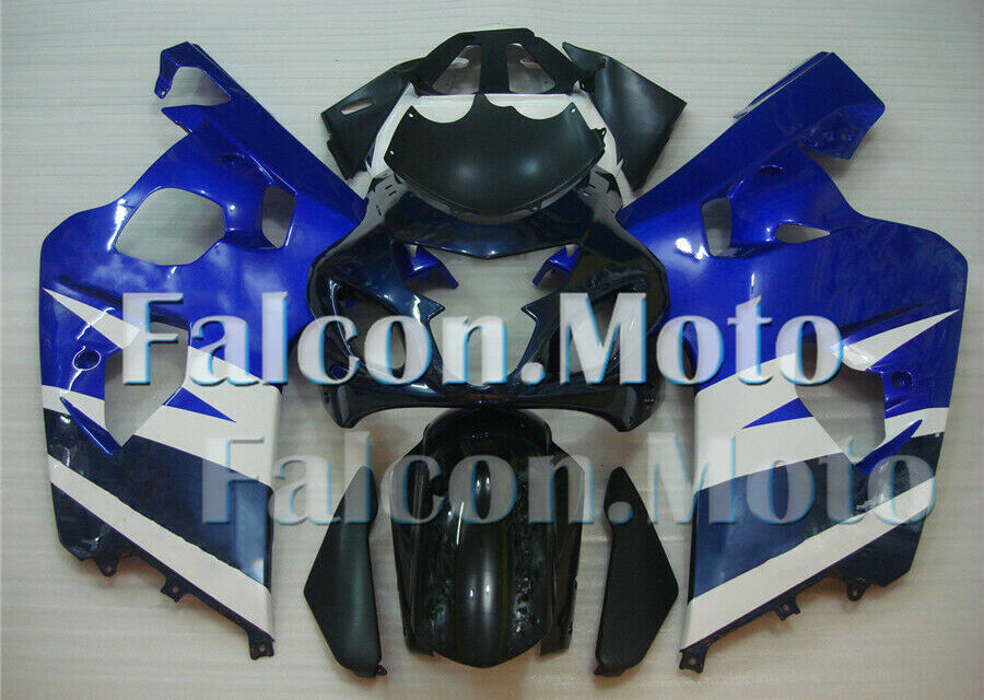 Blue White Injection Body Kit Fairing Fit for 2004-2005 GSXR 600 750 K4 Mold ABS