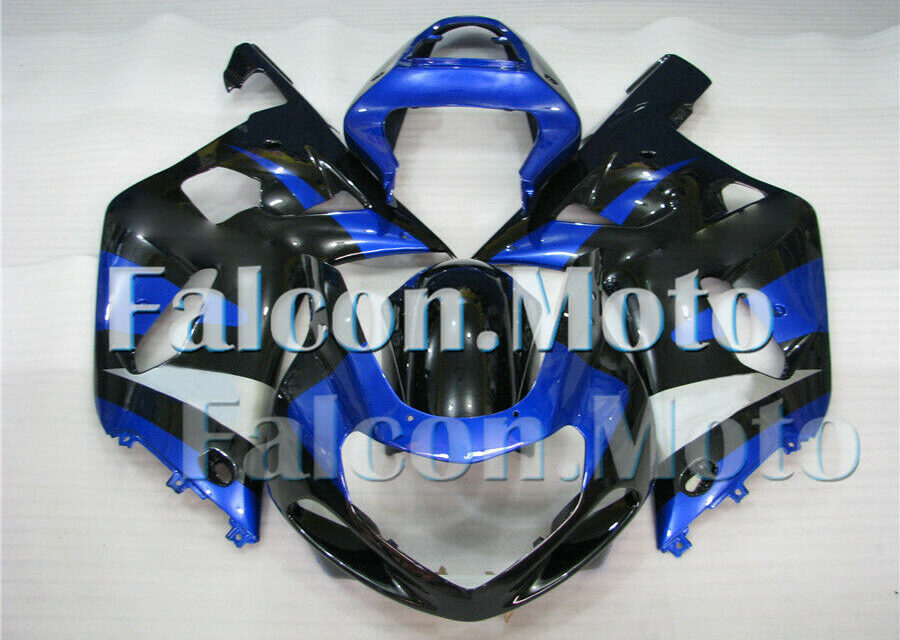 New Fairing Fit for 01-03 GSXR 600 750 K1 2001-2003 Blue Black Injection Mold