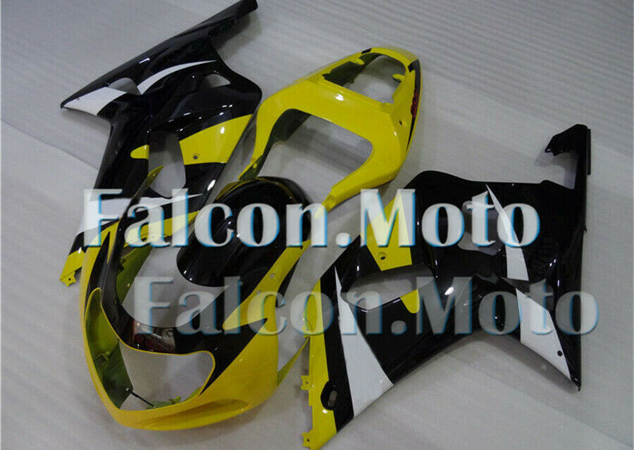 Yellow Black Injection Fairing Fit for 2001-2003 GSXR 600 750 K1 Plastic Set aBR