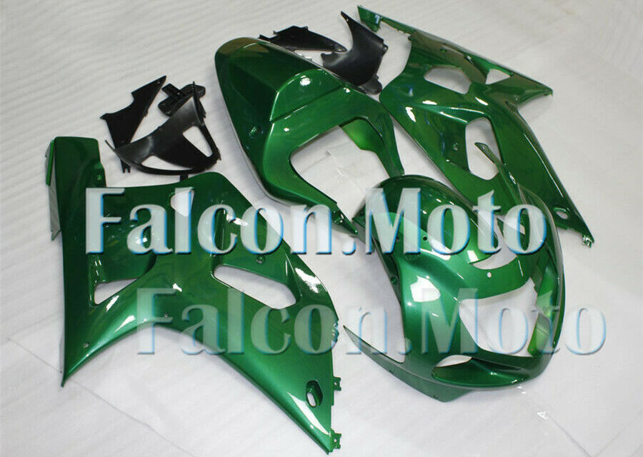 New Green Injection Mold Fairing Fit for 2001-2003 GSXR 600 750 K1 Set Body Work