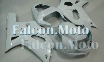 Glossy White Injection Mold Fairing Fit for 2001-2003 GSX-R 600 750 Bodywork Set