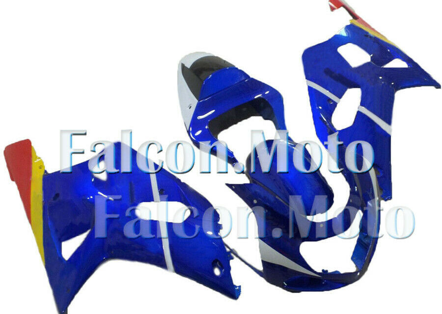 Fairing Injection Fit for 01-03 GSXR 600 750 K1 2001 2002 2003 Plastic ABS iAL