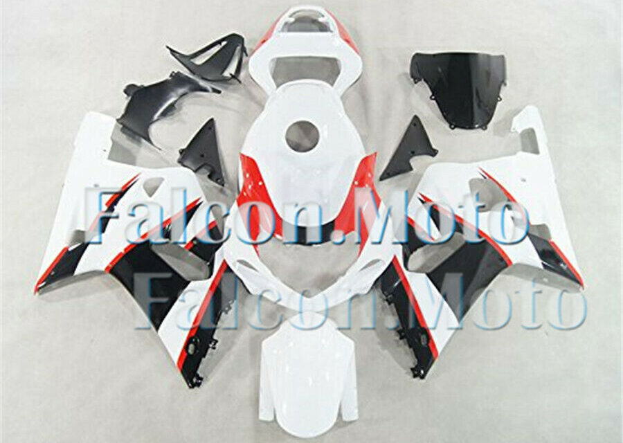 Injection White Red Black Fairing Fit for 2001-2003 GSXR 600 750 K1 ABS Mold aDZ