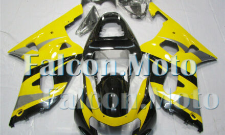Fairing Fit for 2001-2003 GSX-R 600 750 K1 Yellow Black Injection Bodywork aFE