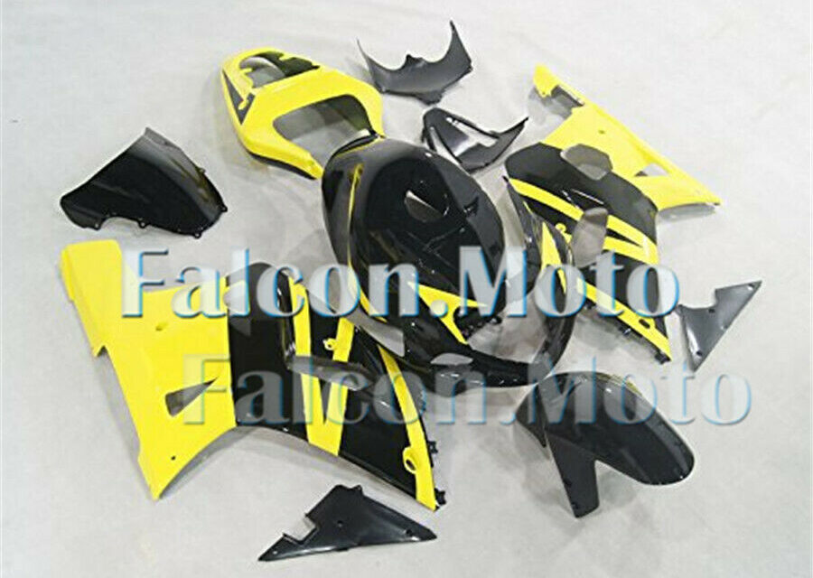 Fairing Yellow Black Fit for 01-03 GSXR 600 750 K1 2001 2002 2003 Injection iAQ