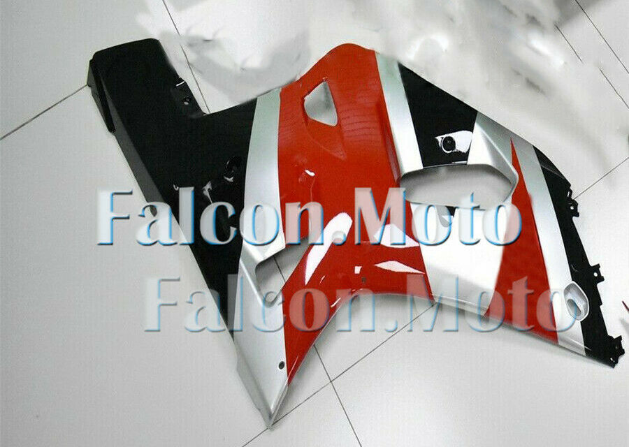 Right Side Fairing for Suzuki GSX-R 600 750 01-03 K1 Red Silver Black Injection