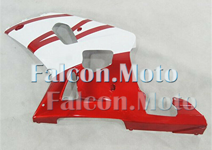 Left Side Fairing for GSX-R 600/750 2001-2003 K1 White Pearl red Injection aAC
