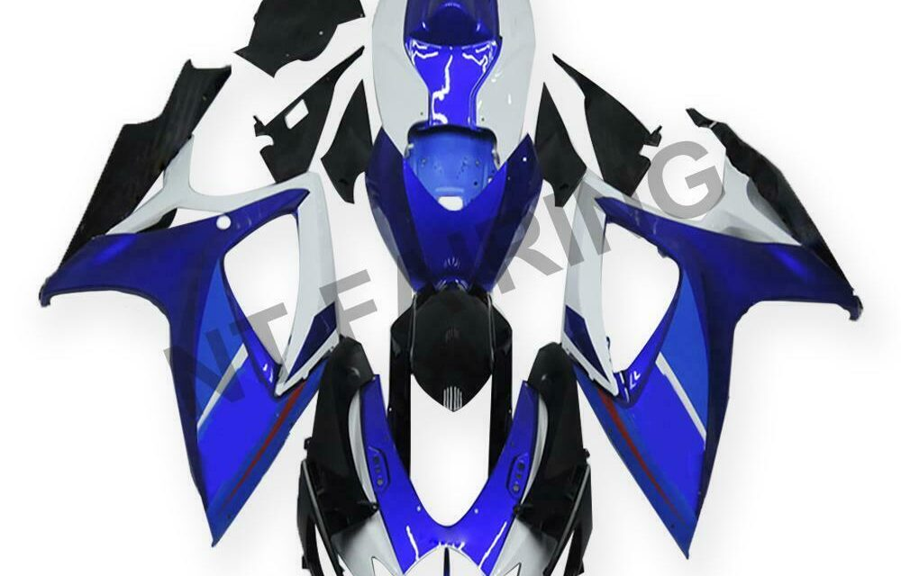 GL Injection Mold Blue Fairing Kit Fit for Suzuki 2006 2007 GSXR 600 750 a013