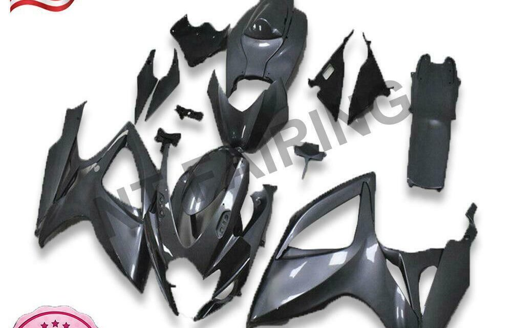 Injection Mold Grey Fairing Kit Fit for Suzuki 2006 2007 GSXR 600 750 a0119