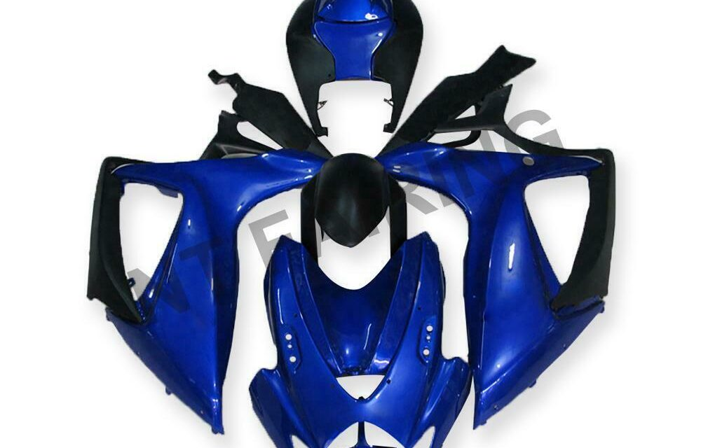 GL Injection Blue ABS Plastic Fairing Fit for Suzuki 2006 2007 GSXR 600 750 a021
