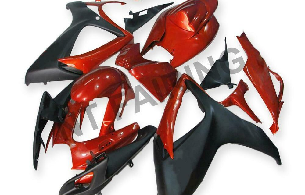 GL Injection Red Plastic Fairing Fit for Suzuki 2006 2007 GSXR 600 750 a028