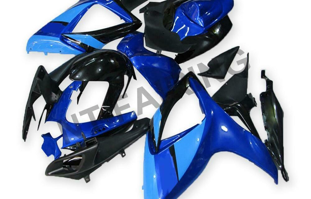 GL Injection Blue Plastic ABS Fairing Fit for Suzuki 2006 2007 GSXR 600 750 a045
