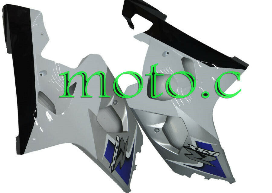 Left Right Side Fairings Suitable For 04-05 GSX-R 600 750 Blue Silver White Black #Aa